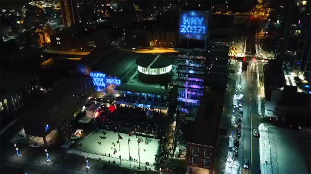 Kitchener's annual countdown to the New Year