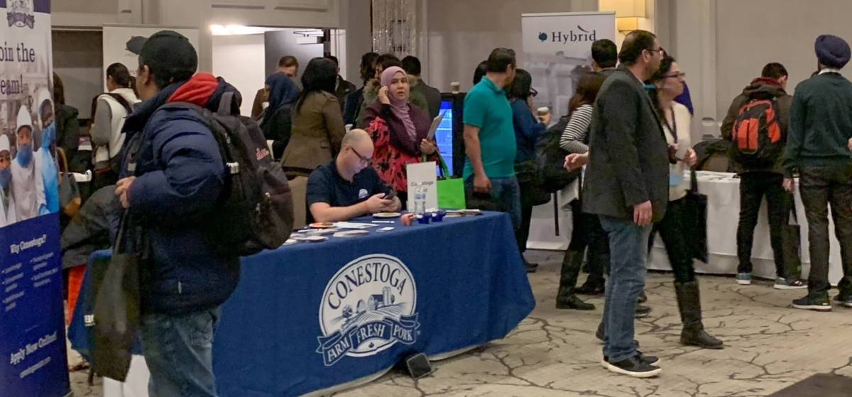 Audio: Scores of recent immigrants attend Global Skills Conference